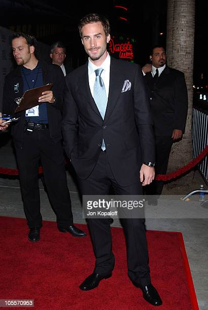 Joseph Fiennes during 2004 AFI Film Festival 'The Merchant of Venice' Arrivals at ArcLight Cinerama Dome in Hollywood California United States