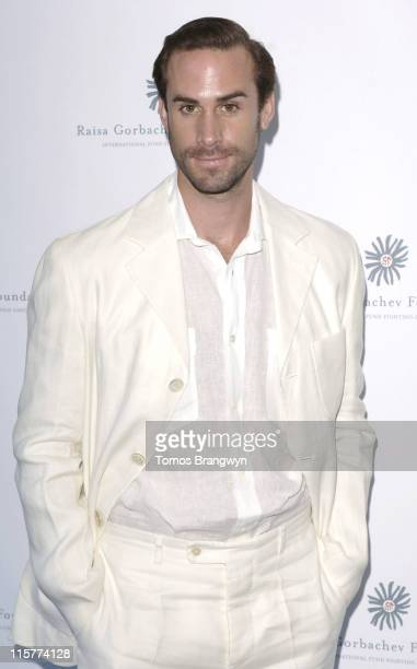 Joseph Fiennes during Raisa Gorbachev Foundation – Arrivals at Althorp in Althorp Northamptonshire Great Britain