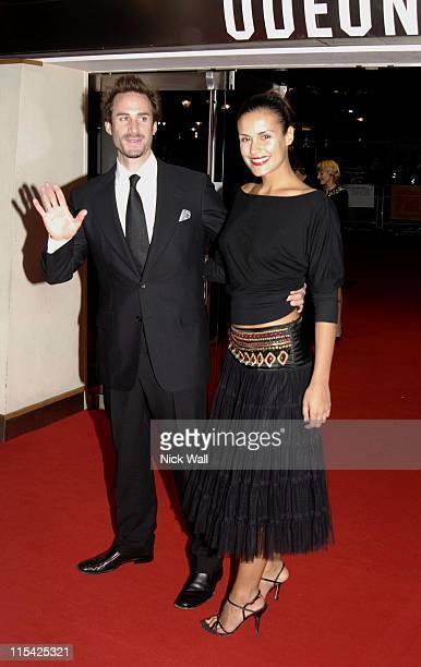 Joseph Fiennes during The BFI London Film Festival 'The Last King of Scotland' Opening Gala Inside Arrivals at Odeon Leicester Square in London Great...