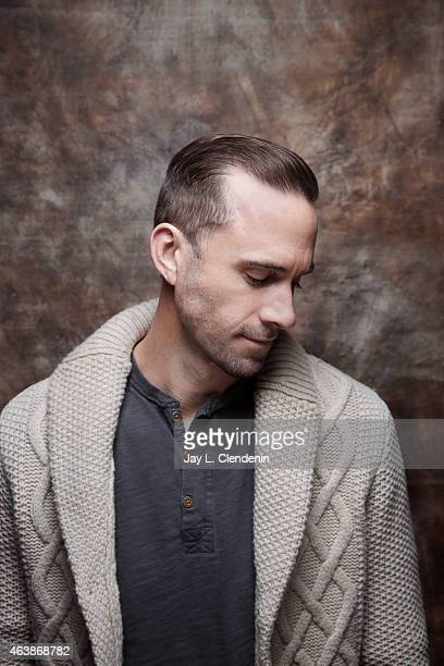 Joseph Fiennes is photographed for Los Angeles Times at the 2015 Sundance Film Festival on January 24 2015 in Park City Utah PUBLISHED IMAGE CREDIT...