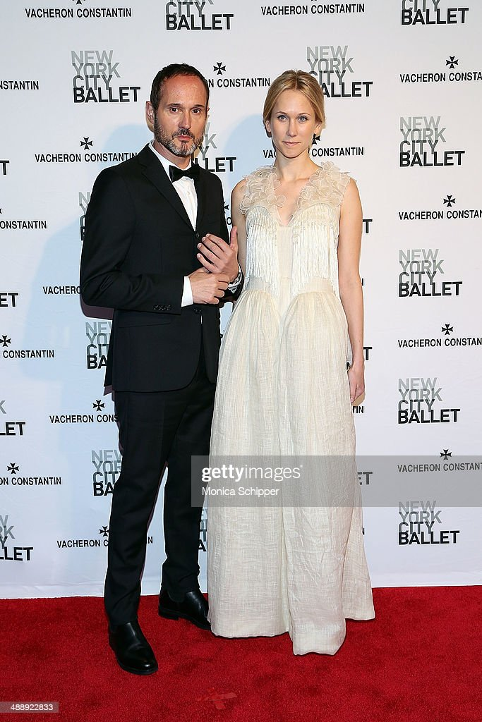 Joseph Fone (L) and Indre Rockefeller attend the New York City Ballet 2014 Spring Gala at David H. Koch Theater, Lincoln Center on May 8, 2014 in New York City.