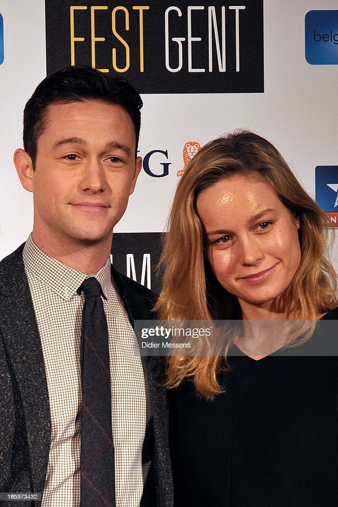 <a gi-track='captionPersonalityLinkClicked' href=/galleries/search?phrase=Joseph+Gordon-Levitt&family=editorial&specificpeople=213632 ng-click='$event.stopPropagation()'>Joseph Gordon-Levitt</a> and <a gi-track='captionPersonalityLinkClicked' href=/galleries/search?phrase=Brie+Larson&family=editorial&specificpeople=171226 ng-click='$event.stopPropagation()'>Brie Larson</a> attends the Belgian premiere of Don Jon at the 40th Ghent Film Festival on October 17, 2013 in Gent, Belgium.