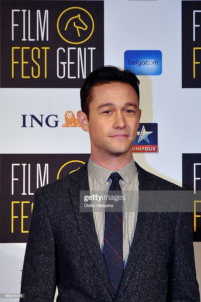 <a gi-track='captionPersonalityLinkClicked' href=/galleries/search?phrase=Joseph+Gordon-Levitt&family=editorial&specificpeople=213632 ng-click='$event.stopPropagation()'>Joseph Gordon-Levitt</a> attends the Belgian premiere of Don Jon at the 40th Ghent Film Festival on October 17, 2013 in Gent, Belgium.