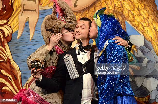 Joseph GordonLevitt is honored as The Hasty Pudding Theatricals' Man of the Year on February 5 2016 in Boston Massachusetts
