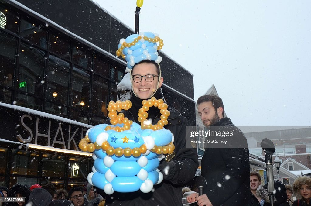 Joseph Gordon-Levitt is honored as The Hasty Pudding Theatricals' Man of the Year on February 5, 2016 in Boston, Massachusetts.
