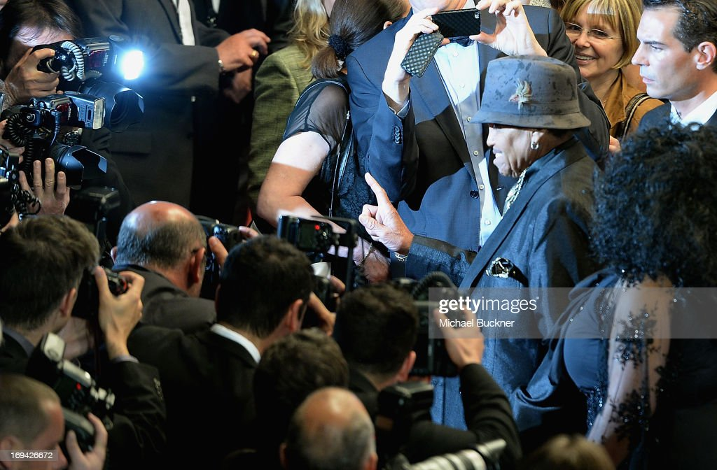 Joseph Jackson attends the 'Michael Kohlhaas' premiere during The 66th Annual Cannes Film Festival at the Palais des Festival on May 24, 2013 in Cannes, France.