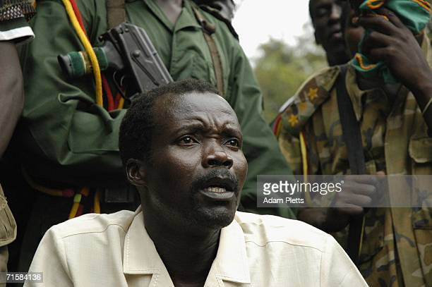 Joseph Kony leader of the rebel group the Lords Resistance Army that has been fighting a war against the Ugandan government for the past twenty years...