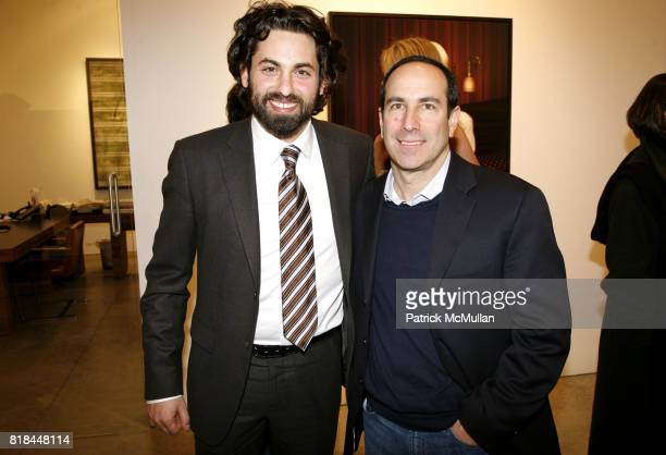 Joseph Kraeutler and Howard Bernstein attend ERWIN OLAF Opening Reception at Hasted Hunt Kraeutler on January 28 2010 in New York