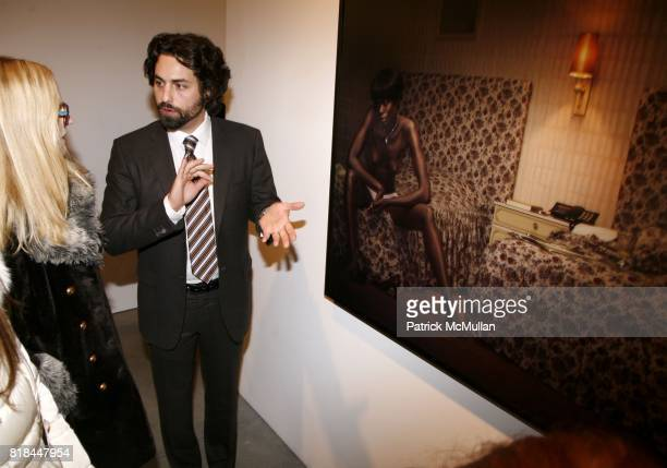Joseph Kraeutler attends ERWIN OLAF Opening Reception at Hasted Hunt Kraeutler on January 28 2010 in New York