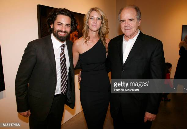 Joseph Kraeutler Sarah Hasted and Bill Hunt attend ERWIN OLAF Opening Reception at Hasted Hunt Kraeutler on January 28 2010 in New York
