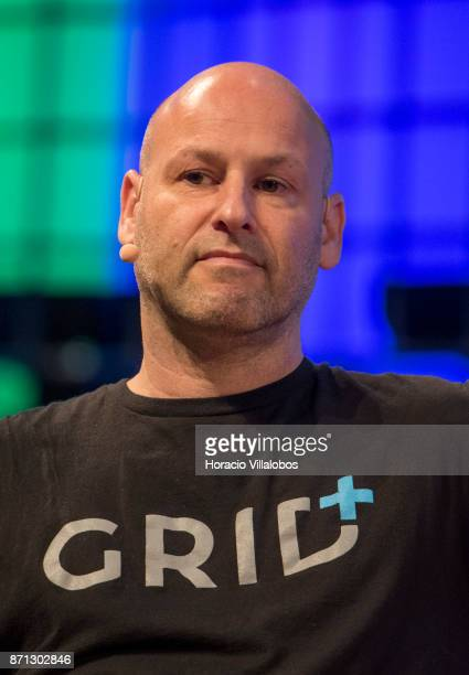 Joseph Lubin Founder of ConsenSys/CoFounder Ethereum Rebecca Lynn discusses on 'ICO hype or revolution' during the second day of Web Summit in Altice...