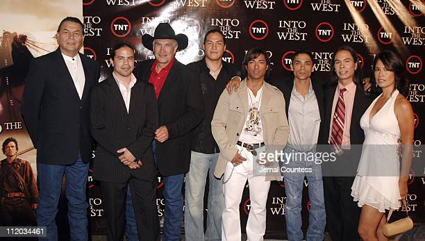Joseph M Marshall George Leach Charlie White Buffalo Eddie Spears Jat Tavare Zahn McClarnon Simon R Baker and Terry Walker