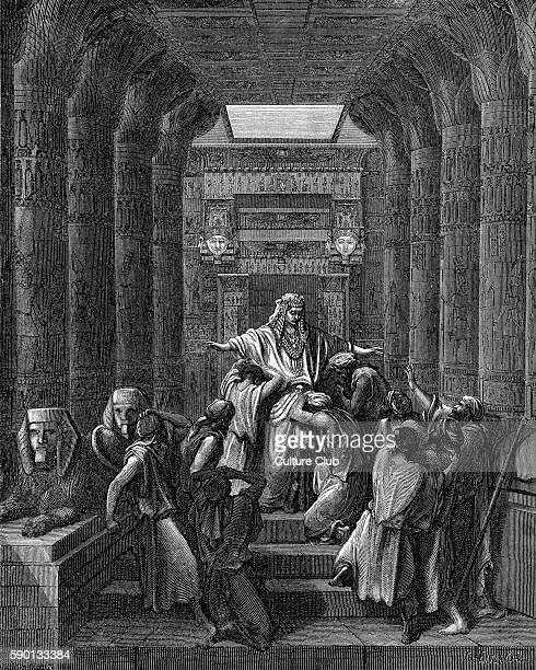 Joseph makes himself known to his brethren illustration by Gustave DorŽ