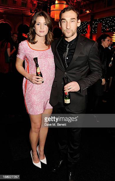 Joseph Mawle and Jo Chernick attend the Moet British Independent Film Awards at Old Billingsgate Market on December 9 2012 in London England
