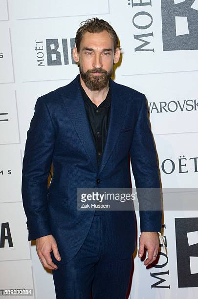 Joseph Mawle arriving at the British Independent Film Awards in London