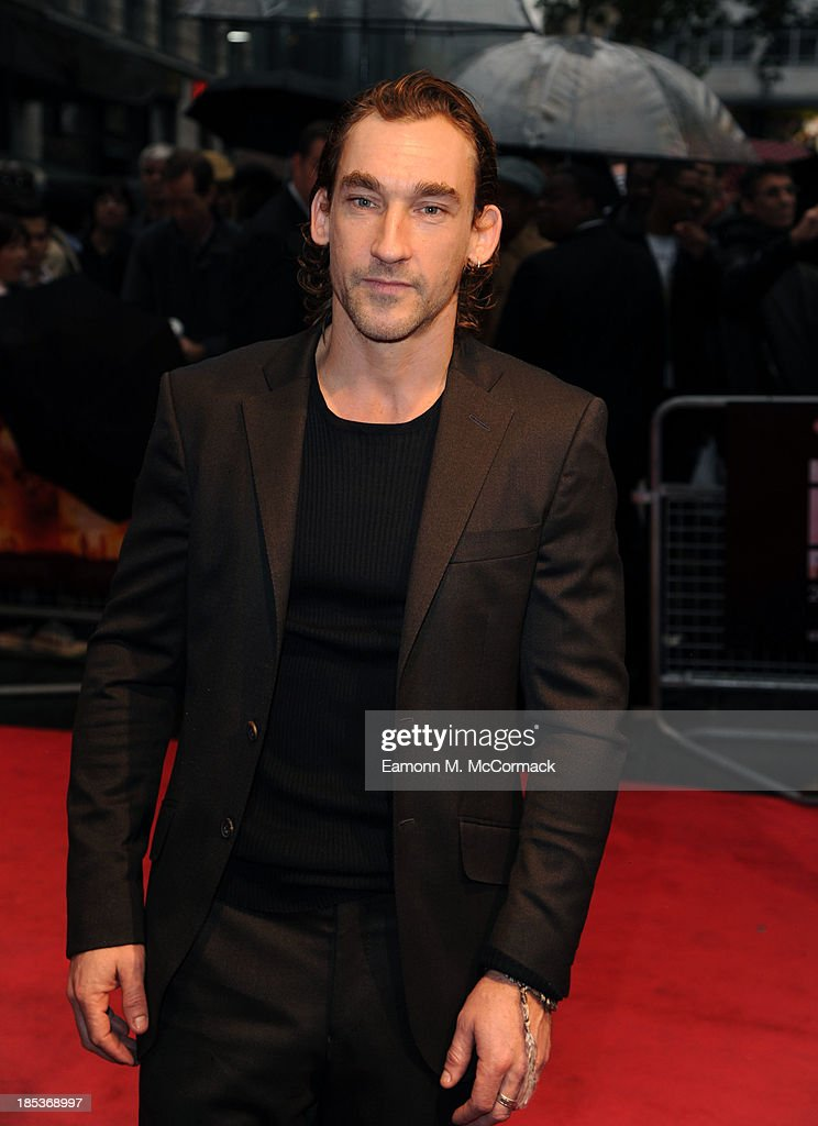Joseph Mawle attends a screening of 'Half of a Yellow Sun' during the 57th BFI London Film Festival at Odeon West End on October 19, 2013 in London, England.