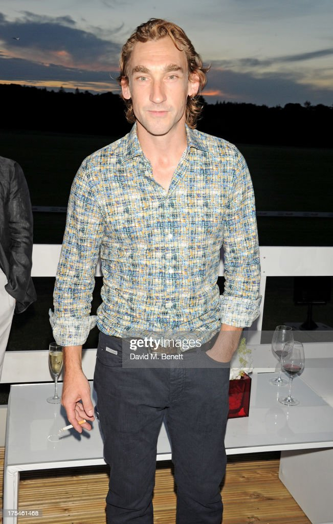 Joseph Mawle attends day 1 of the Audi Polo Challenge at Coworth Park Polo Club on August 3, 2013 in Ascot, England.
