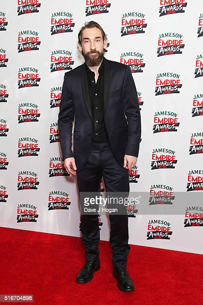 Joseph Mawle attends the Jameson Empire Awards 2016 at The Grosvenor House Hotel on March 20 2016 in London England