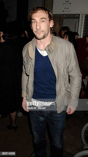 Joseph Mawle attends the press night of 'The Last Days of Judas Iscariot' at the Almeida Theatre on April 3 2008 in London England