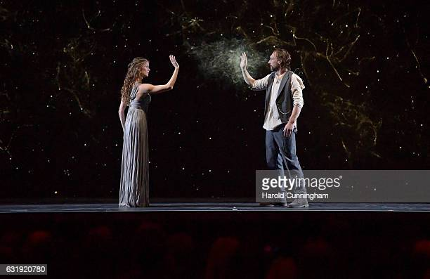 Joseph Mawle performs on stage at the IWC Schaffhausen 'Decoding the Beauty of Time' Gala Dinner during the launch of the Da Vinci Novelties from the...