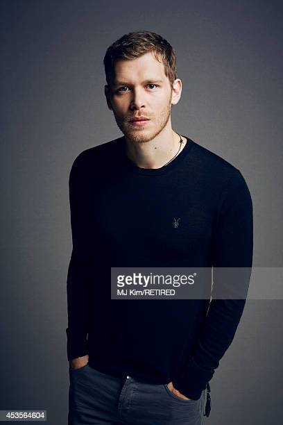 Joseph Morgan poses for a portrait at the Getty Images Portrait Studio powered by Samsung Galaxy at ComicCon International 2014 on July 24 2014 in...