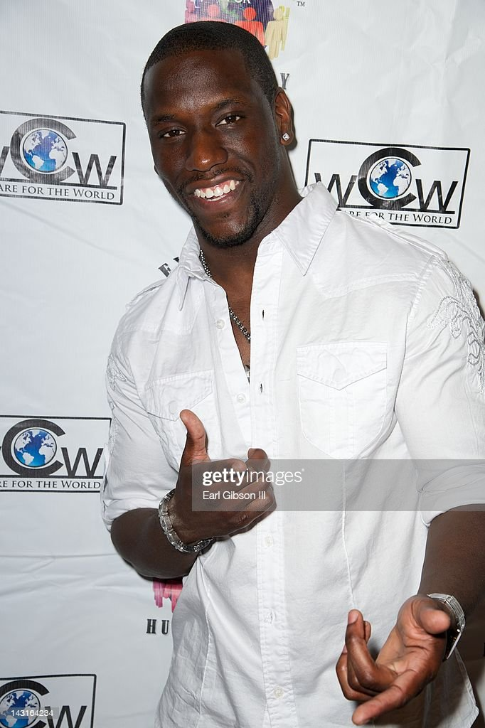 Joseph Musa arrives at Cafe Entourage on April 19, 2012 in Hollywood, California.