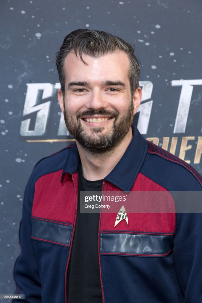 Joseph Nardino arrives for the Premiere Of CBS's 'Star Trek: Discovery' at The Cinerama Dome on September 19, 2017 in Los Angeles, California.