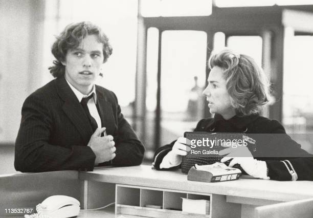 Joseph P Kennedy III and Ethel Kennedy during Ethel Kennedy and Joe Kennedy at Logan Airport November 7 1970 at Logan Airport in Boston Massachusetts...