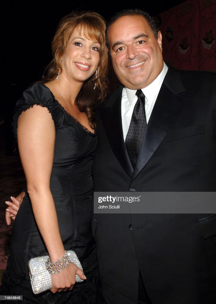 Joseph R. Gannascoli and guest at the Pacific Design Center in West Hollywood, California