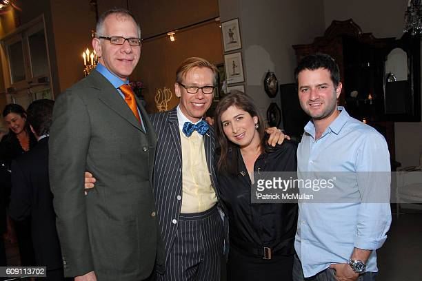 Joseph Singer Mish Tworkowski Jennifer Smith Hale and Michael Smith attend Cocktails at Hollyhock Honoring Mish NY and the Breast Center at UCLA at...