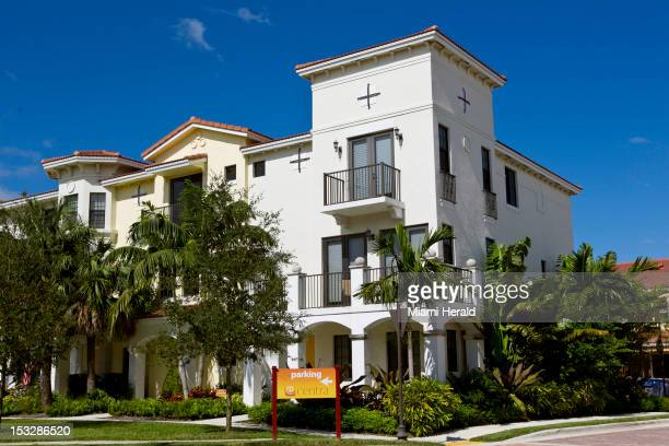 Joseph 'Skinny Joey' Merlino lives ina townhouse in this building in Boca Raton Florida Merlino is in Florida after being released from prison on...