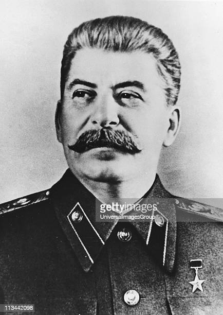Joseph Stalin Russian Communist dictator