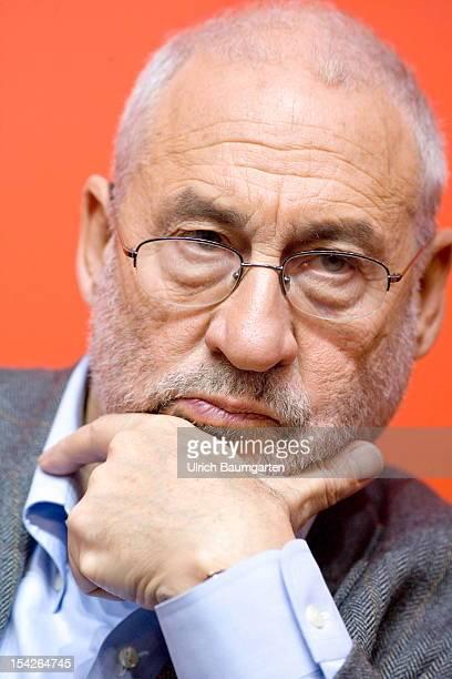 Joseph Stiglitz US economist and writer at the Frankfurt Book Fair on October 12 2012 in Frankfurt am Main Germany The Frankfurt Book Fair is the...