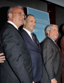 Joseph V Melillo Bruce Ratner and Marty Markowitz attend the BAM 30th Next Wave Gala at the Brooklyn Academy of Music on September 27 2012 in the...