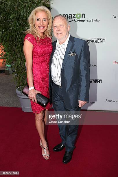 Joseph Vilsmaier and his partner Birgit Muth during the German premiere for Amazon's original drama series 'Transparent' at Kuenstlerhaus am...