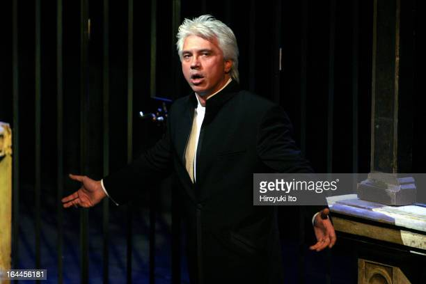 Joseph Volpe Gala at the Metropolitan Opera on Saturday night May 20 2006This imageDmitri Hvorostovsky performing Verdi's 'Don Carlo'