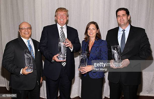 Joseph Wharton Award Honorees SA Ibrahim CEO Radian Group Inc Donald J Trump Chairman President The Trump Organization Jennifer C Simpson Managing...