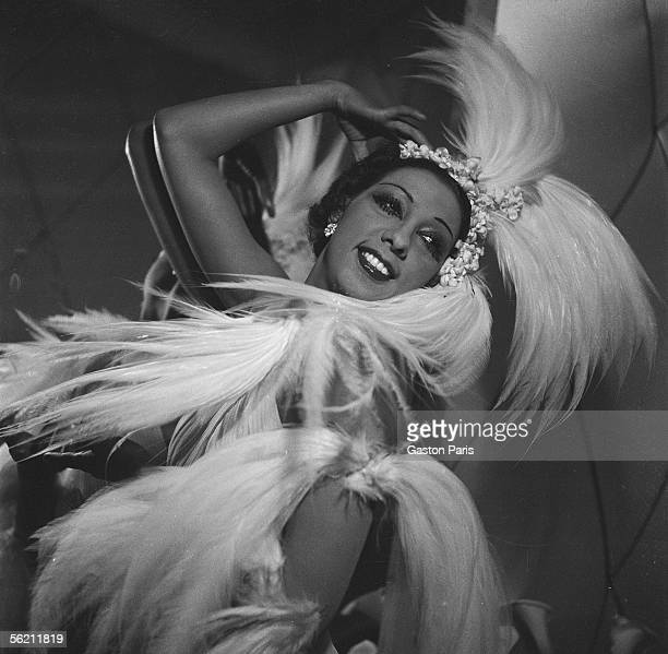 Josephine Baker American artist of musichall