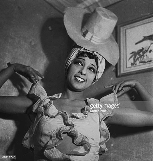 Josephine Baker in 'La Creole' Paris Theatre Marigny December 1934