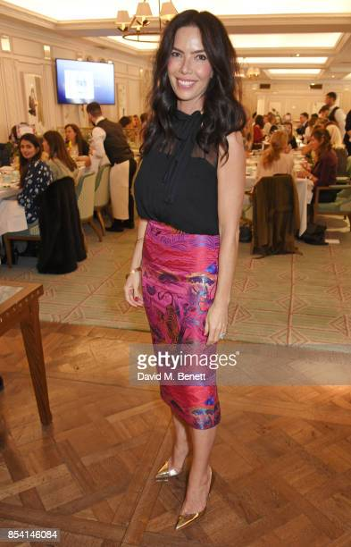 Josephine Daniel attends the 4th annual Ladies' Lunch in support of the Silent No More Gynaecological Cancer Fund at Fortnum Mason on September 26...