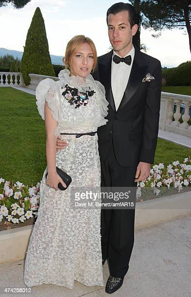 Josephine de la Baume and Mark Ronson arrive at amfAR's 22nd Cinema Against AIDS Gala Presented By Bold Films And Harry Winston at Hotel du...