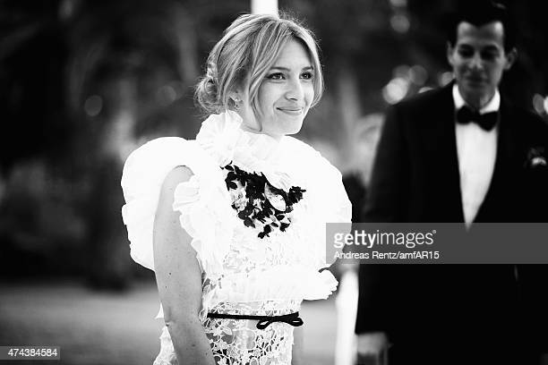 Josephine de La Baume attends amfAR's 22nd Cinema Against AIDS Gala Presented By Bold Films And Harry Winston at Hotel du CapEdenRoc on May 21 2015...