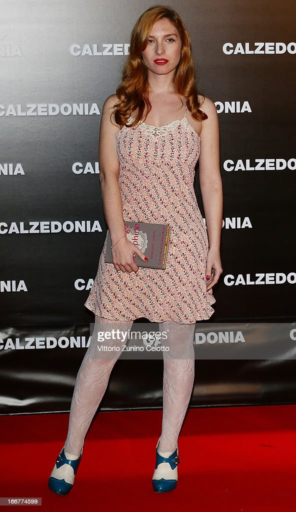 Josephine De La Baume attends Calzedonia Summer Show Forever Together on April 16, 2013 in Rimini, Italy.
