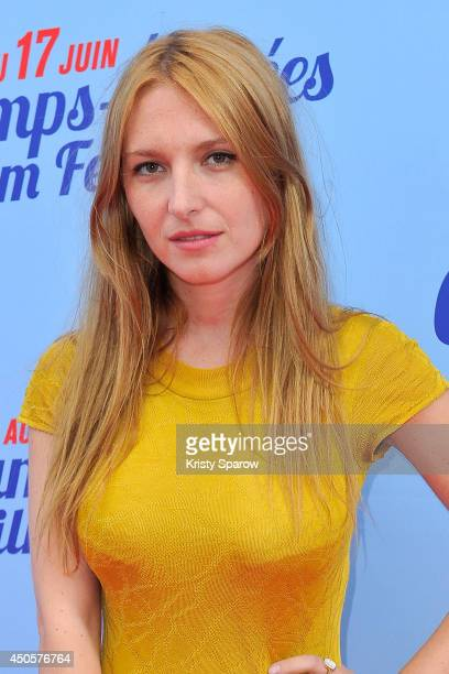 Josephine de la Baume attends Kiss of the Damned Paris Premiere during Day 3 of the Champs Elysees Film Festival on June 13 2014 in Paris France