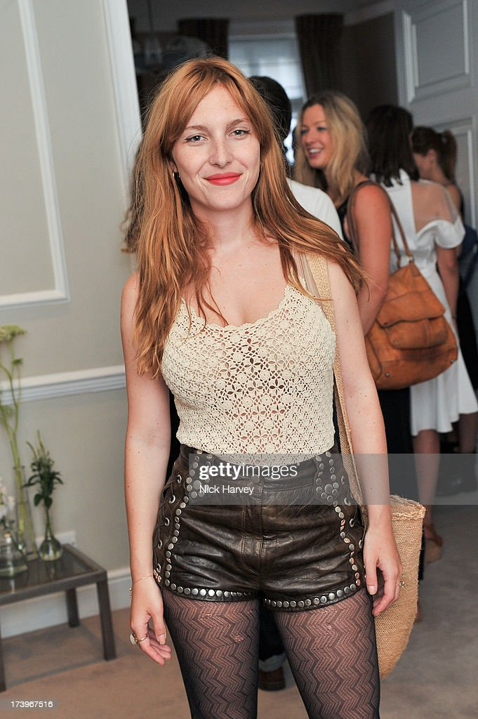 Josephine de la Baume attends MATCHESFASHION.COM Partners With Rika On 'Iron Girl' Project For Rika Magazine on July 18, 2013 in London, England.