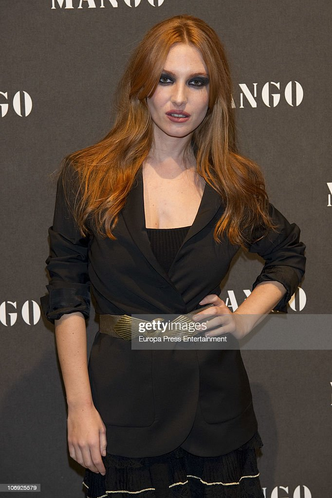 Josephine de la Baume attends the launch of Mango new spring/summer 2011 collection at the Palacio de Cibeles on November 16, 2010 in Madrid, Spain.