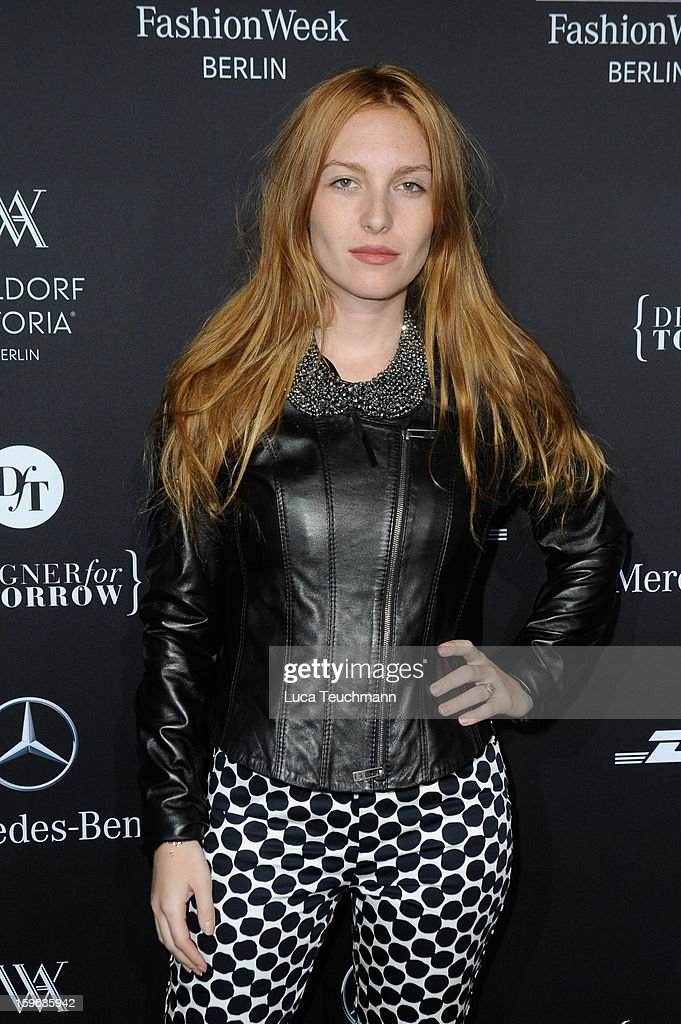 Josephine de la Baume attends the Laurel Autumn/Winter 2013/14 fashion show during Mercedes-Benz Fashion Week Berlin at Brandenburg Gate on January 17, 2013 in Berlin, Germany.