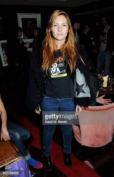 Josephine de la Baume attends the Project Zoltar 10th anniversary celebration and launch of Zoltar the Magnificent at The Groucho Club on November 26...