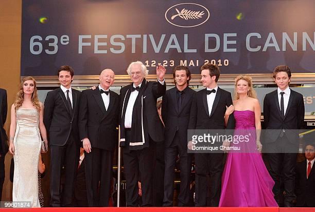 Josephine de La Baume Raphael Personnaz Cannes Film Festival President Gilles Jacob director Bertrand Tavernier Gaspard Ulliel Gregoire...
