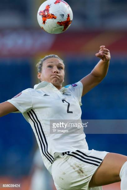 Josephine Henning of Germany controls the ball during the Group B match between Germany and Sweden during the UEFA Women's Euro 2017 at Rat Verlegh...